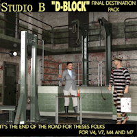 "Legacy Davo Studio B ""D-BLOCK"" Restraint Package"