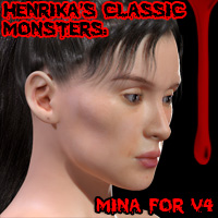 Classic Monsters: Mina For V4