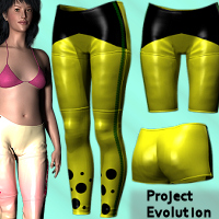 Sport Leggings For Project Evolution - Poser