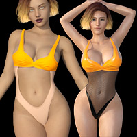 CUTOUT SWIMSUIT G8F