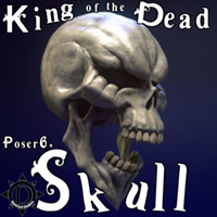 King Of The Dead Skull
