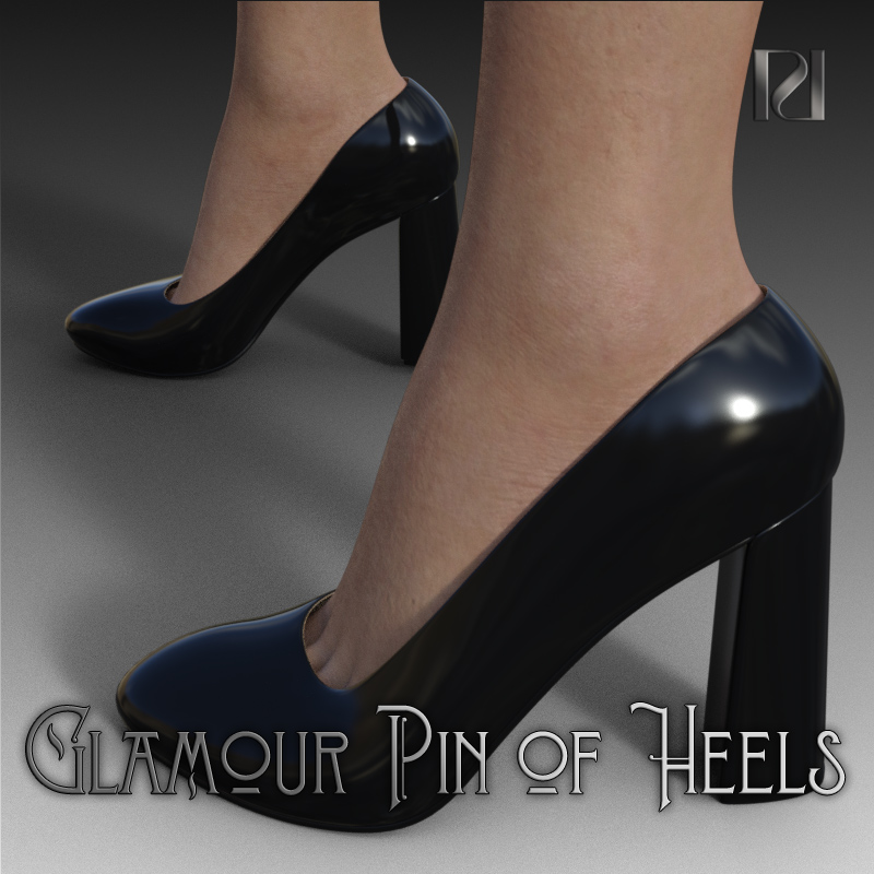 Glamour Pin Of Heels 03