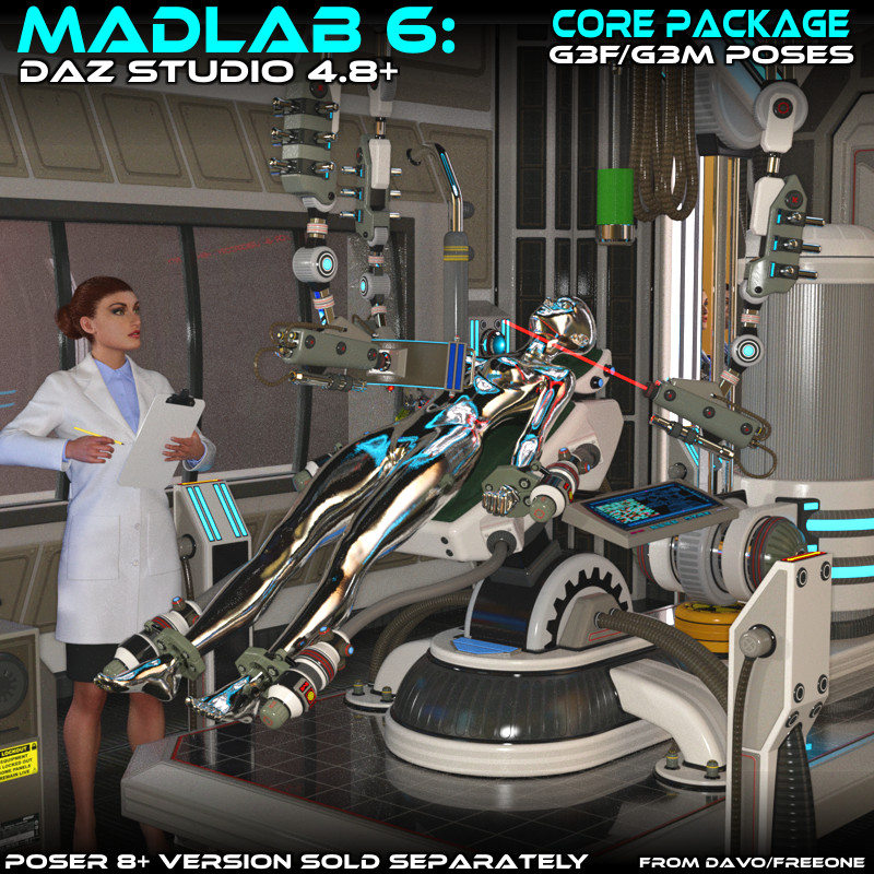CGbytes - Store - Madlab-6-Core-Package-For-DS-4-8-