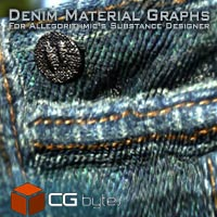 ArtDev Substance Designer Denim Material Graphs