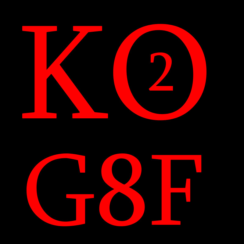 KO2 For G8F