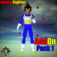 Anime Fighter Add On Pack 1