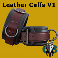 G8 Leather Cuffs V1