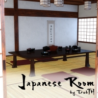 Japanese Room For Iray