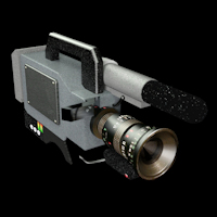 Legacy Dendras Retro Pro Video Camera for Daz Studio