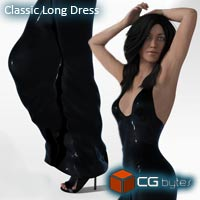 ArtDev Classic Long Dress