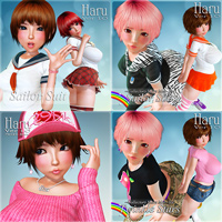 Haru Clothing Set 2