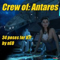 Crew Of Antares V7 Cockpit
