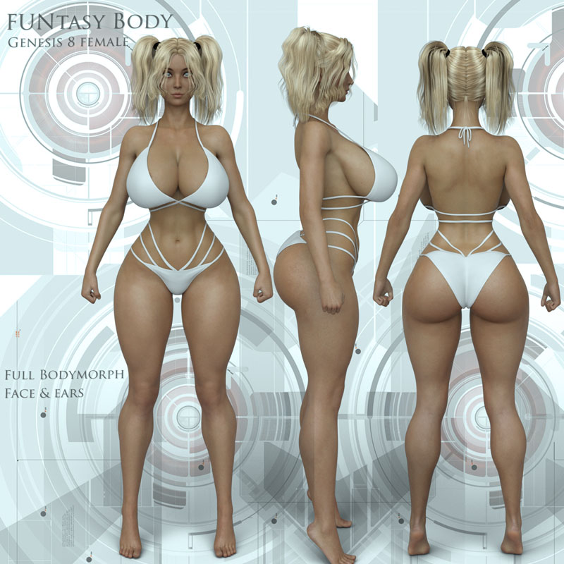 FUNtasy Body For G8F