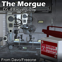 The Morgue For DazStudio 4.8+
