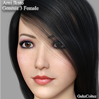 Arni Ikato For Genesis 3 Female