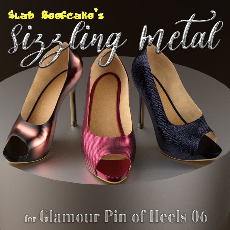Sizzling Metal For Glamour Pin Of Heels 06