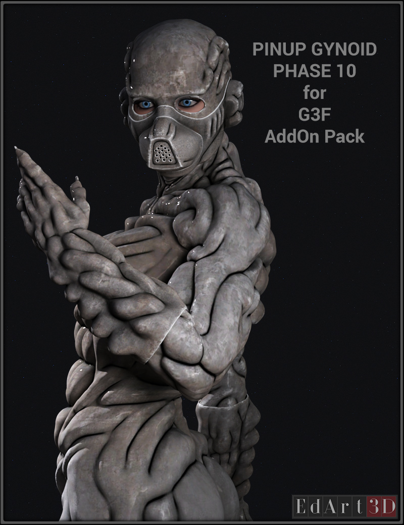 Pin-Up Gynoid Phase 10 For G3F AddOn Pack