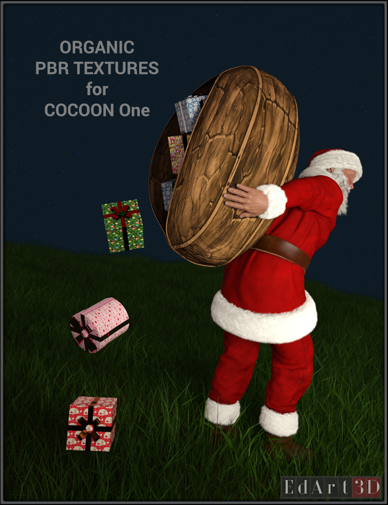 Organic PBR Textures for Cocoon One